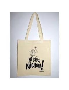 Retour en force du tote bag culte de votre magazine préféré : Ni Dieu Nichon! © Camille Besse