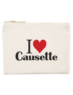 Pochette I ♥ Causette